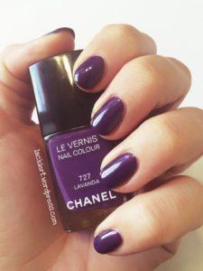Chanel Lavanda 2 Schichten