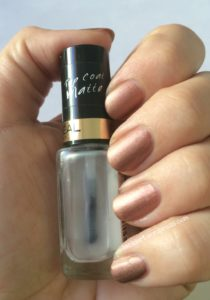 Jade mit Loreal Matte Top Coat