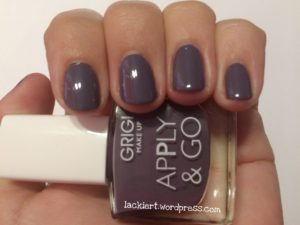 2 Schichten Grigi Make Up Nagellack Apply & Go 361
