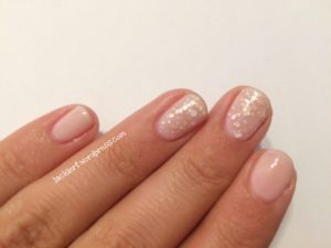 Sally Hansen mit essence Effect Nail polish nude dots