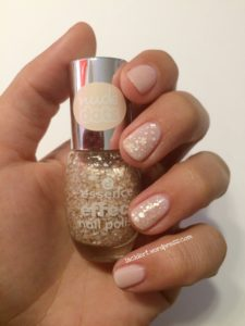 Sally Hansen Shell we dance mit essence effect nail polish truth or dare