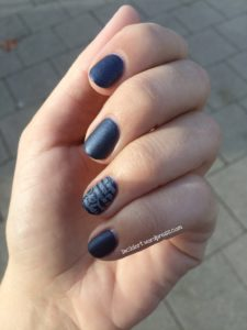 essenc blue-jeaned mit satin matt top coat