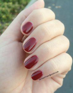 Red Zin von Sally Hansen für lacke in Farbe und Bunt