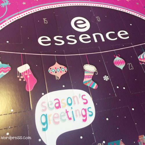 essence Adventskalender 2015