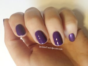 Chanel Nail Colour 727 Lavanda