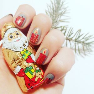 Nailart Adventszeit