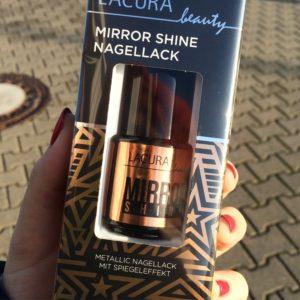 Lacura beauty mirror shine nagellack 03 bronze