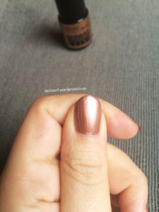 Lacura Beauty mirror shine Nagellack 03 Bronze