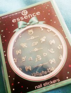 essence Adventskalender nail sticker