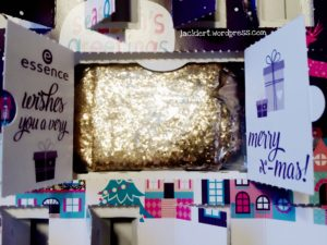 essence Adventskalender Kosmetik Tasche