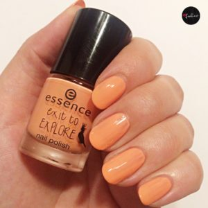 essence trend edition exit to explore nail polish apricot cockatoo