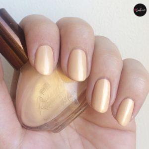 p2 beauty bazaar nail polish 010 curcuma dream