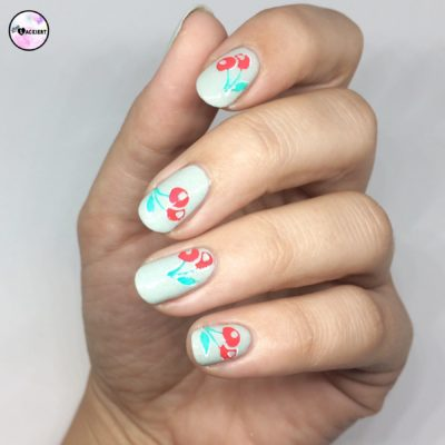 Nailart Cherries