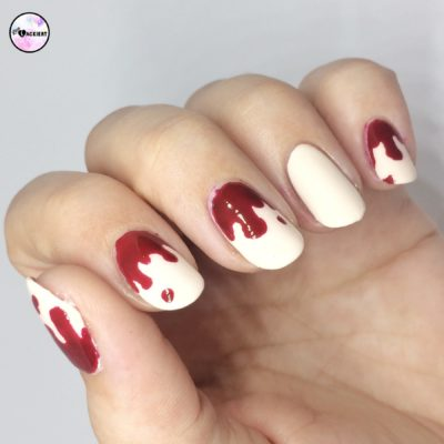 Halloween Nailart bloody