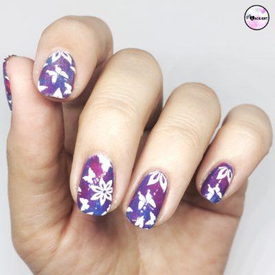 nailart challenge butterflies