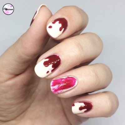 Halloween Nails Blood