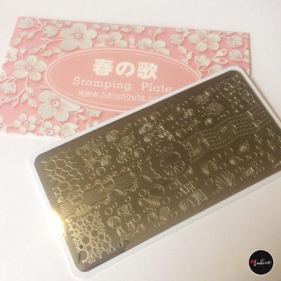 stamping plate harunouta
