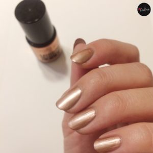 Lacura beauty Mirror Shine Nagellack Bronze