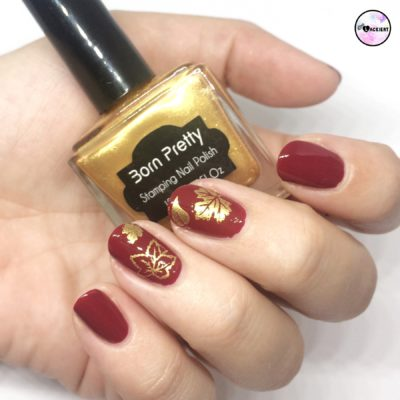 gold stamping polish born pretty
