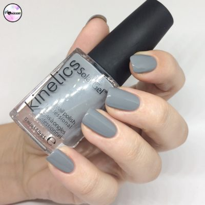 Venus Kinetics Solargel Iceland Grey Swatches