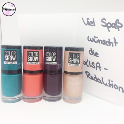Maybelline Colorshow Nagellack