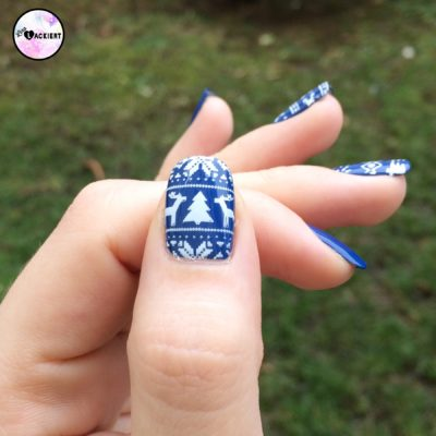 Advents Nailart