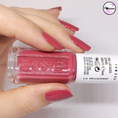 Essie mrs Always right Swatches