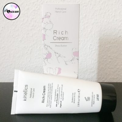 Kinetics Rich Cream Hand Care