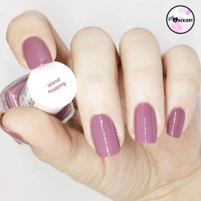 essie nail polish island hopping