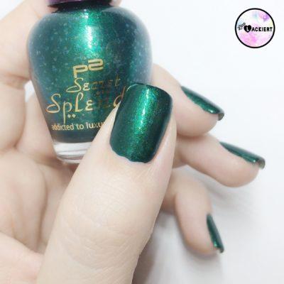 p2 Nail polish grün