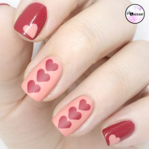 Happy Valentines Nails