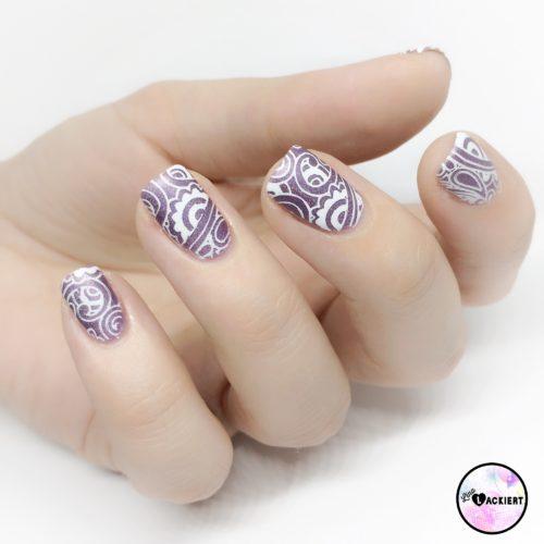 Holo Nails Stamping Nailart