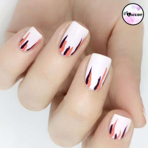 How To Waterfall Nails