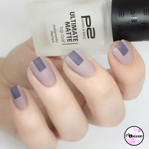 Matte Nail Art Stripes