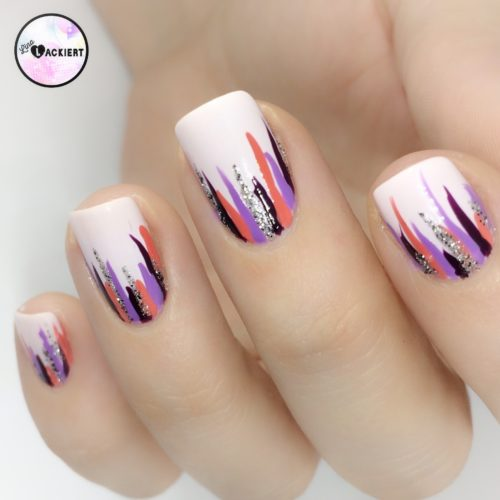 Nailart Waterfall Nails