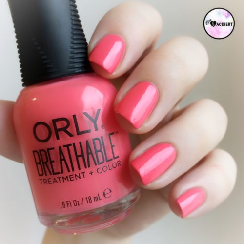 Orly Breathable Nail Superfood swatch