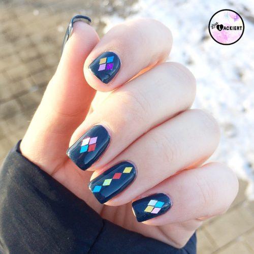 Pailletten Nails