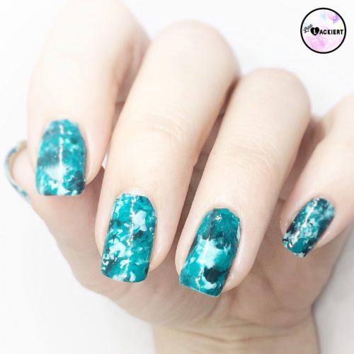Stamping Matte Smooshy nails