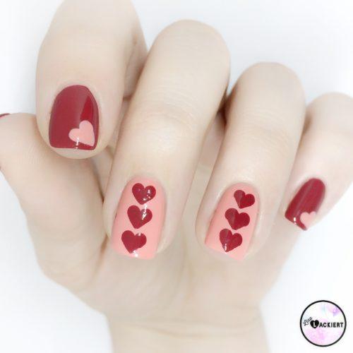 Valentinstag Nägel