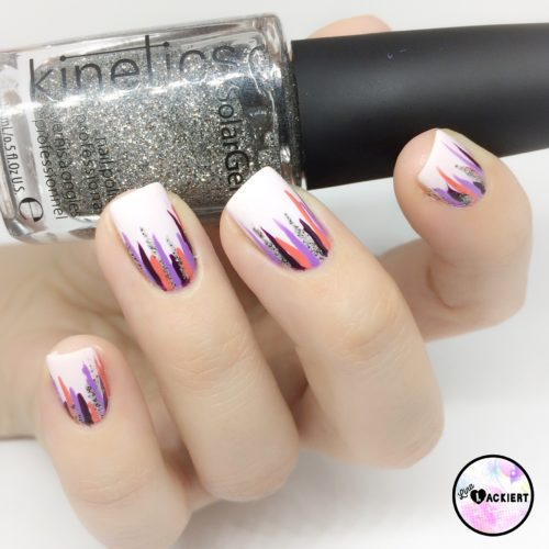 Waterfall Nails Nailart