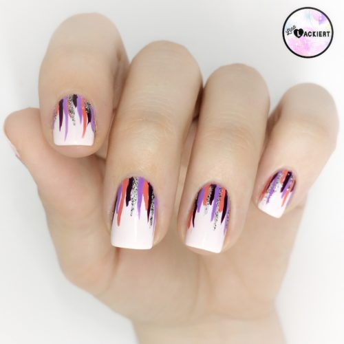 Wie macht man Waterfall Nails