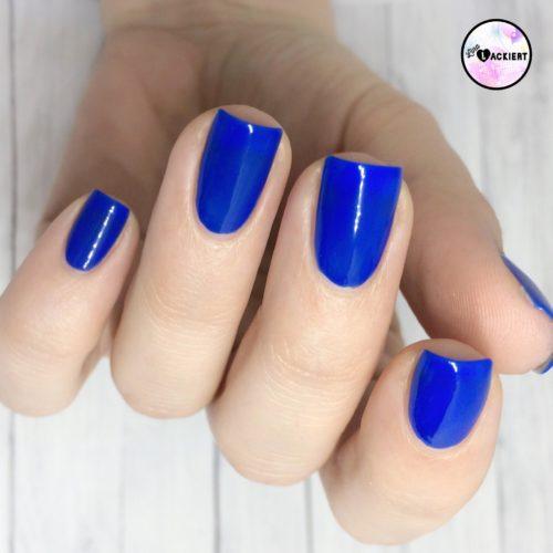 Blauer Nagellack von Hema