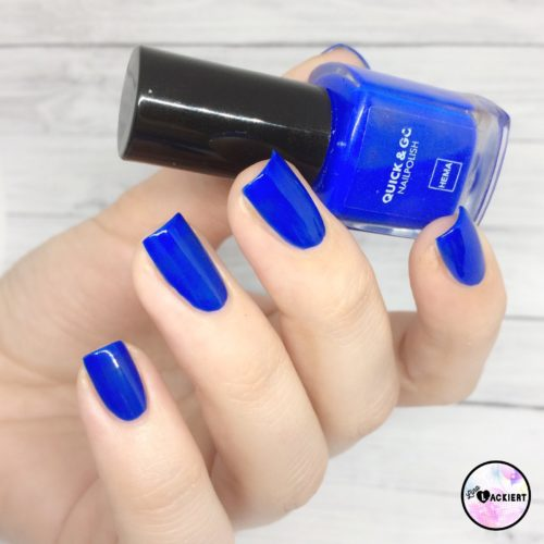 Hema Nailppolish Bold Blue