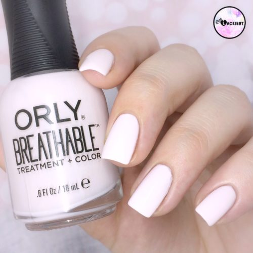 Orly Breathabel Light as a feather Swatches