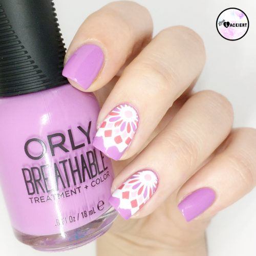Reverse Stamping Orly Breathable