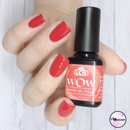WOW Hybrid Gel Polish pure passion von LCN