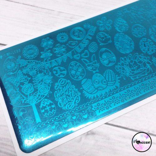 Born Pretty Stamping Plate L033