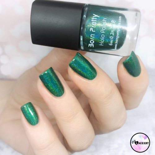 Grüner Born Pretty Holo-Polish