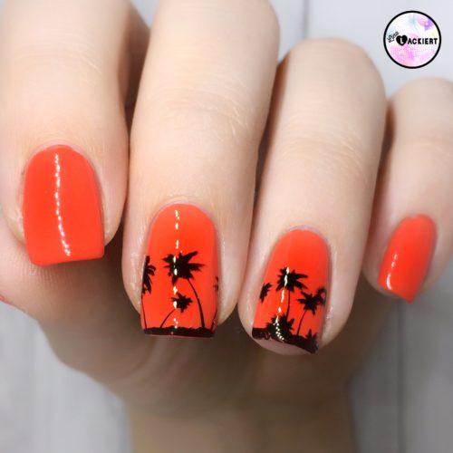 Palmen nailart