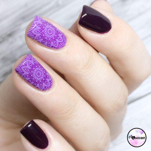 Purple Stamping